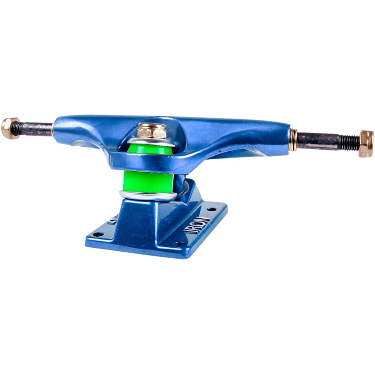 "Iron High 5.25"" Skateboard Trucks - Blue"