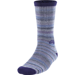 Nike SB Dri-FIT Space Dye Socks - Court Purple/Game Royal