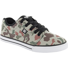 DC Bristol SE Boys Shoes - Camo/Russet/Orange