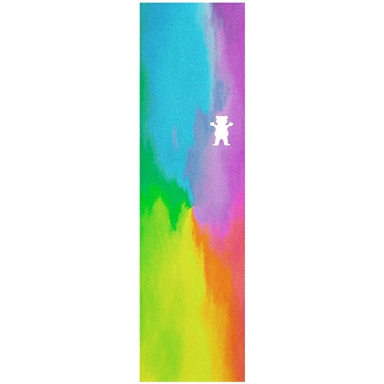 Grizzly Water Tie-Dye Cutout Skateboard Grip Tape