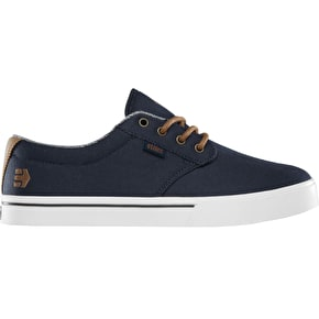 Etnies Jameson 2 Eco Skate Shoes - Navy/Brown/White