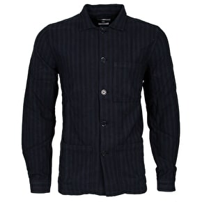 WeSC Orlando Long Sleeve Shirt - Marina Blue