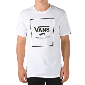 Vans Print Box T-Shirt - White/Black