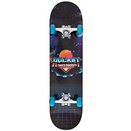 Rocket Logo Series Future Complete Skateboard - Black 7.75