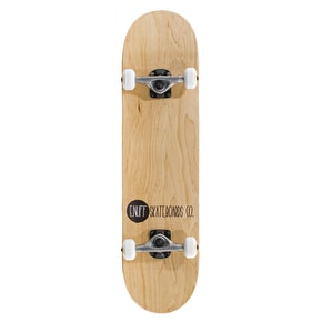 Enuff Logo Stain Complete Skateboard - Natural