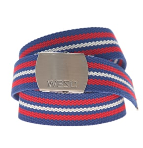 WeSC Alfio Unisex Striped Belt