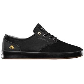 Emerica Romero Laced Skate Shoes - Black/Gum/Grey