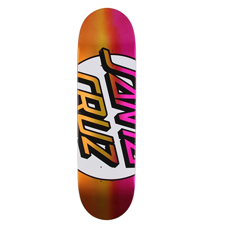 Santa Cruz Big Missing Dot Taper Tip Skateboard Deck - Multi 8.5""