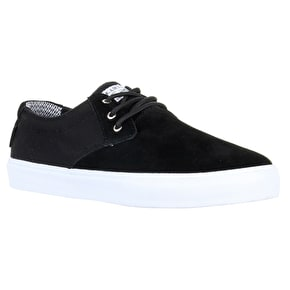 Lakai MJ Shoes - Black Suede