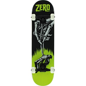 Zero Hand Of Doom Premium Complete Skateboard - Black/Green 7.75