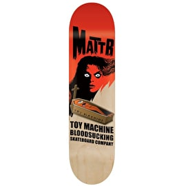 Toy Machine Bennett Coffin Skateboard Deck - 8.5