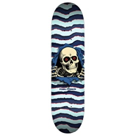 Powell Peralta Ripper Skateboard Deck - Light Blue 9.0