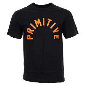 Primitive Big Arch T-Shirt - Black/Orange