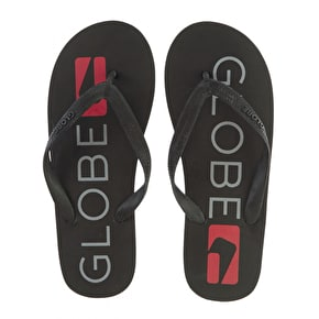 Globe Fairfax Flip-Flops - Black/Grey/Red