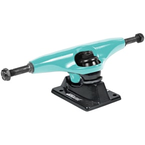 Slant Skateboard Trucks - Teal/Black 5.25