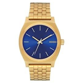 Nixon Time Teller Watch - All Gold/Blue Sunray