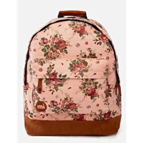Mi-Pac Cotton Rose Backpack - Peach