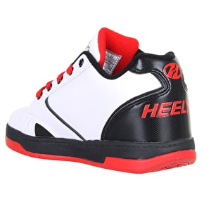 B-Stock Heelys Propel 2.0 - White/Black/Red UK 2 (Reboxed)
