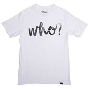 Who? Oil Logo T-Shirt - White