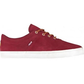 Fallen York Skate Shoes - Burgundy/Brown