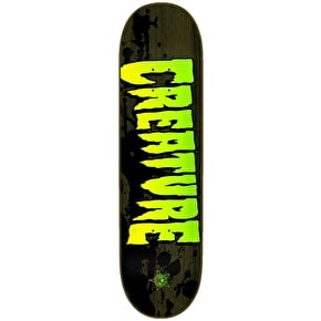 Creature Stained Skateboard Deck - 8.26