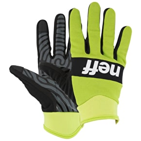Neff Ripper Gloves - Lime