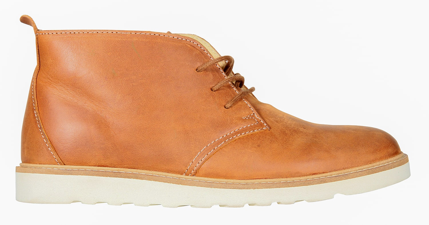 WeSC Desert Shoes  Leather Brown