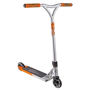 Grit 2017 Mayhem Complete Scooter - Silver/Orange