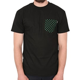 Lakai x Girl Dotted Pocket T shirt - Black