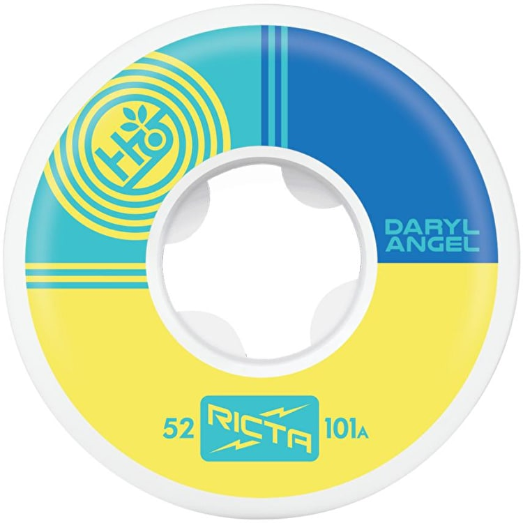 Ricta x Habitat 101a Skateboard Wheels - Angel 52mm (Pack of 4)