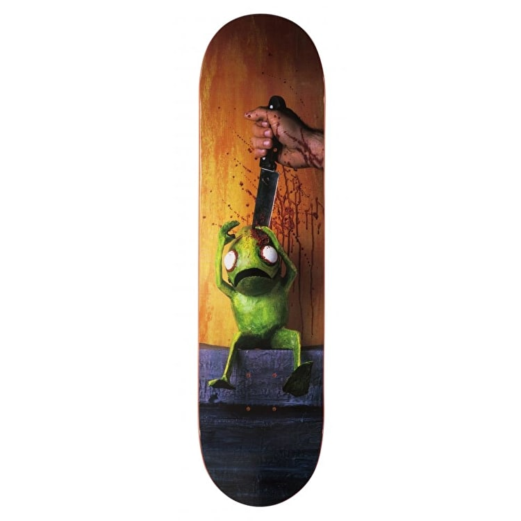 Alien Workshop Stabbing Icon Series Skateboard Deck - 8""