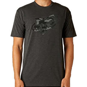 Fox Foe T-Shirt - Heather Black