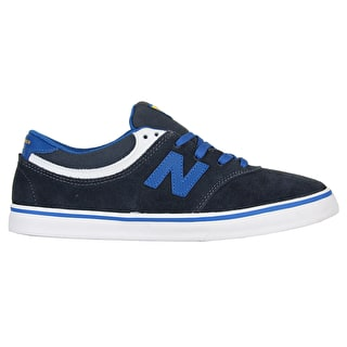 New Balance Quincey Skate Shoes - Blue/White