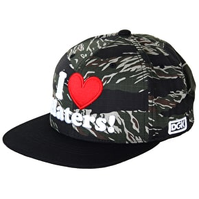 DGK Haters F13 Cap - Tiger/Black