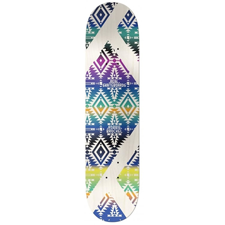 Real Diamondback Skateboard Deck - Brockel 8.06""