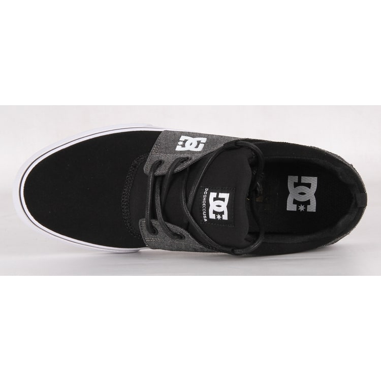 DC Heathrow V SE Skate Shoes - Black/Black/Dark Grey