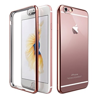 Aero Metallic Bumper iPhone Case - Rose Gold