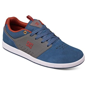 DC Cole Signature Skate Shoes - Navy/Grey