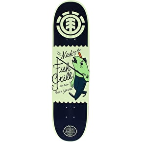 Element Fish Grill Skateboard Deck - Garcia 8