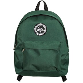 Hype Badge Backpack - Bottle Green