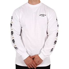 Lakai War Pig Long Sleeve T shirt - White