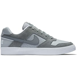 Nike SB Delta Force Vulc Skate Shoes - Cool Grey/Wolf Grey