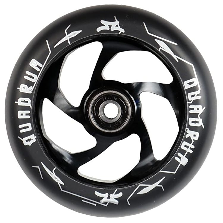 AO Scooters Quadrum 110mm Scooter Wheel - Black