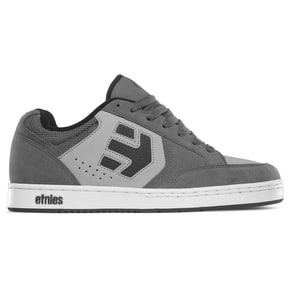 Etnies Swivel Skate Shoes - Grey/Black/White