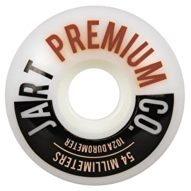 Jart Analogic 102a Skateboard Wheels - Orange 54mm