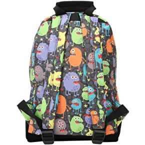 Mi-Pac Mini Monsters Backpack - Black