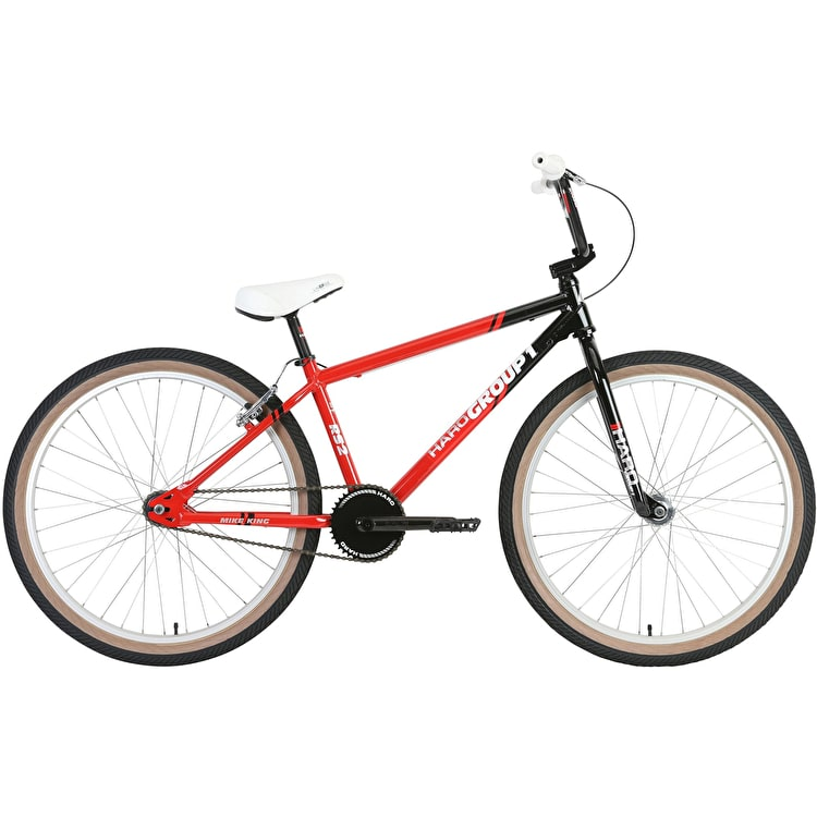 """Haro Group 1 RS-2 Cruiser 26"""" 2019 Complete BMX - Black/Red"""