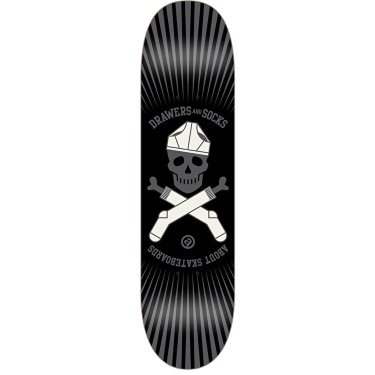 About Team Series DNS Skateboard Deck - Skull 8""