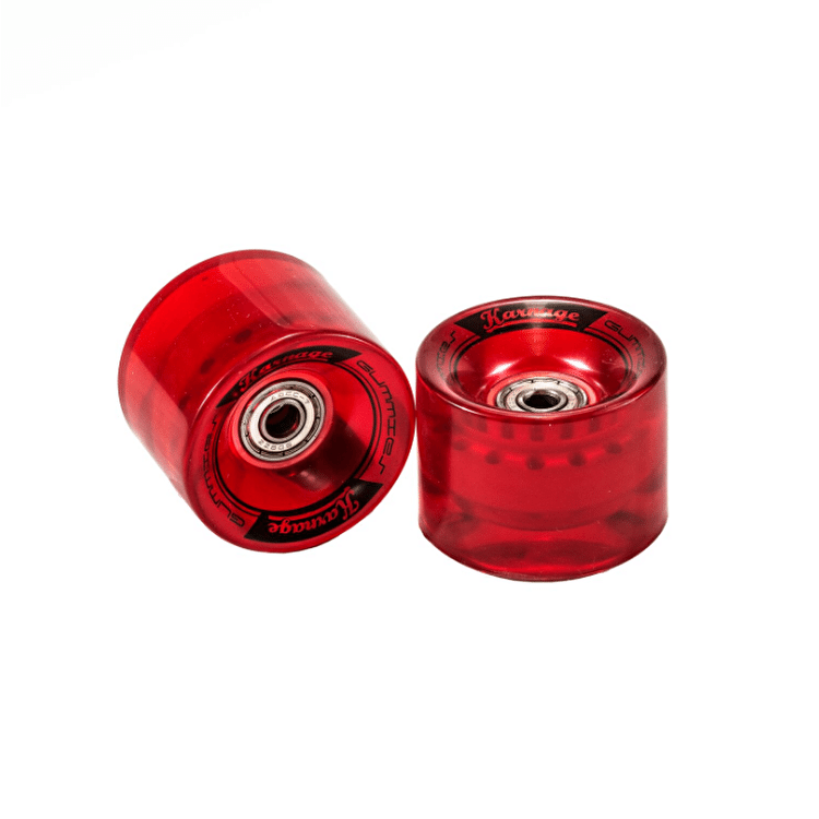 Karnage Super Smooth 59mm Skateboard Wheels - Red - 2 Pack