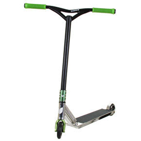 Blazer Pro Custom Scooter - Chrome/Black/Green